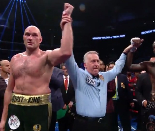 Wilder Vs Fury  Fight Purses Wilder And Fury Nabs  Million