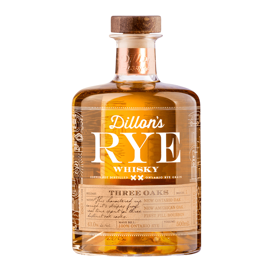 Dillon's Rye Whisky Cocktail Kit