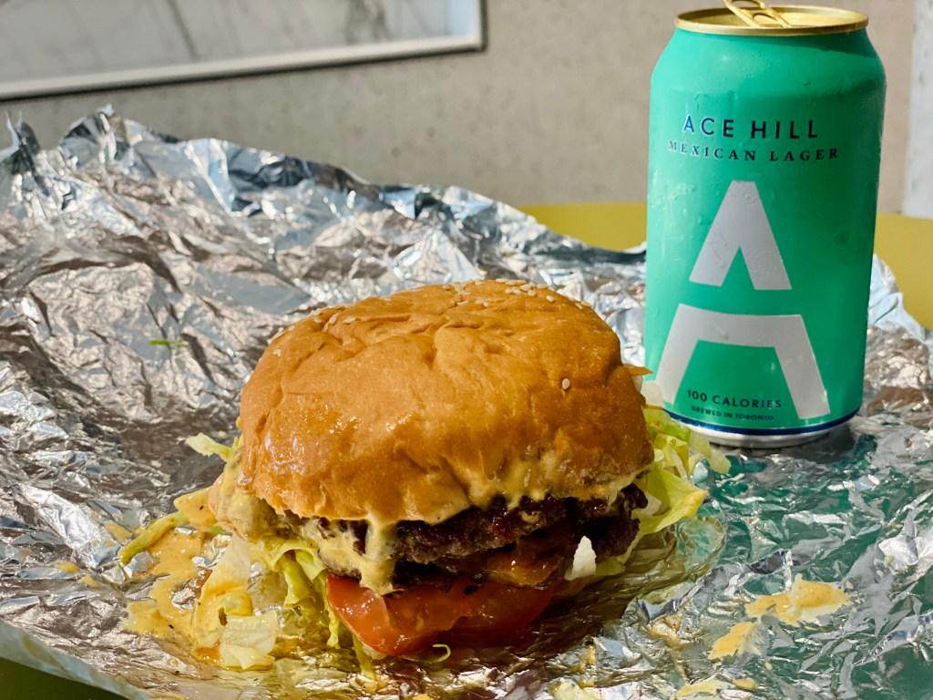 Stock T.C. Toronto Cumbrae's Burger