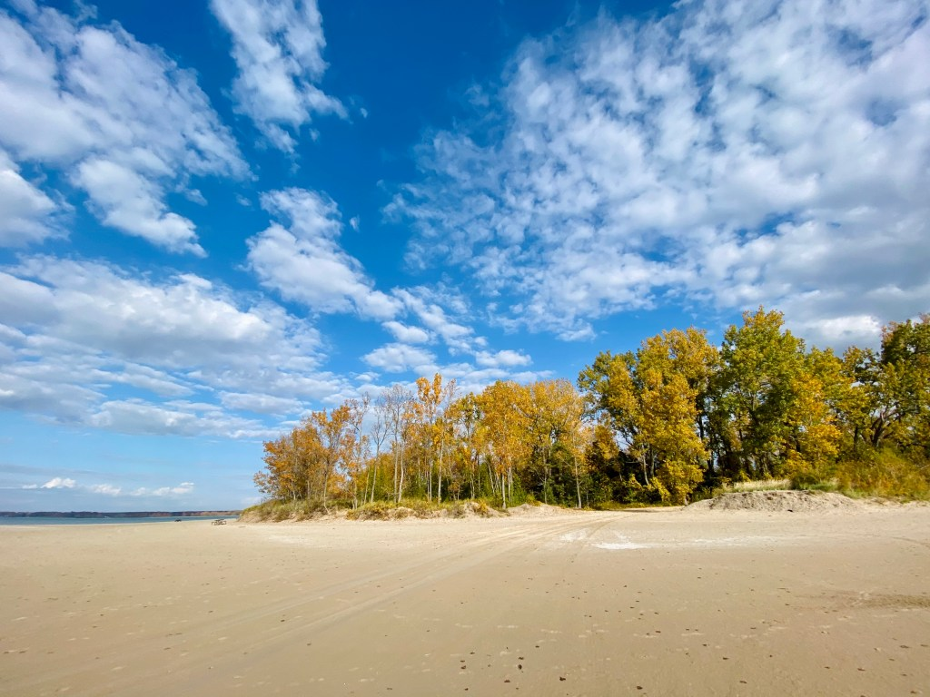 Sandbanks Provincial Park in the fall