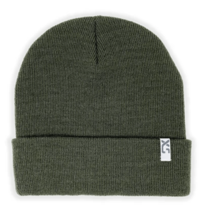 X-S Unified Cuffed Wool Beanie Dark Olive