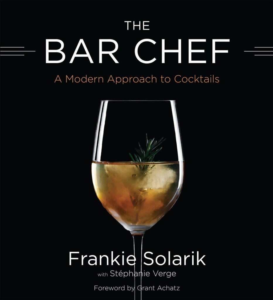 BarChef Cocktail Book Toronto