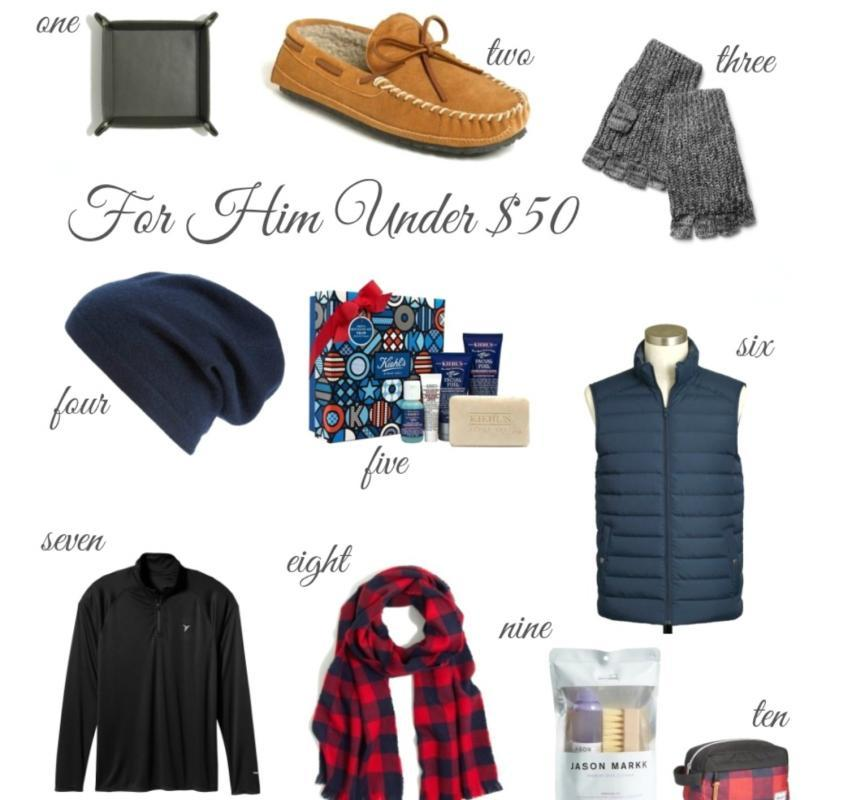 Holiday Gift Guide: For Him Under $50