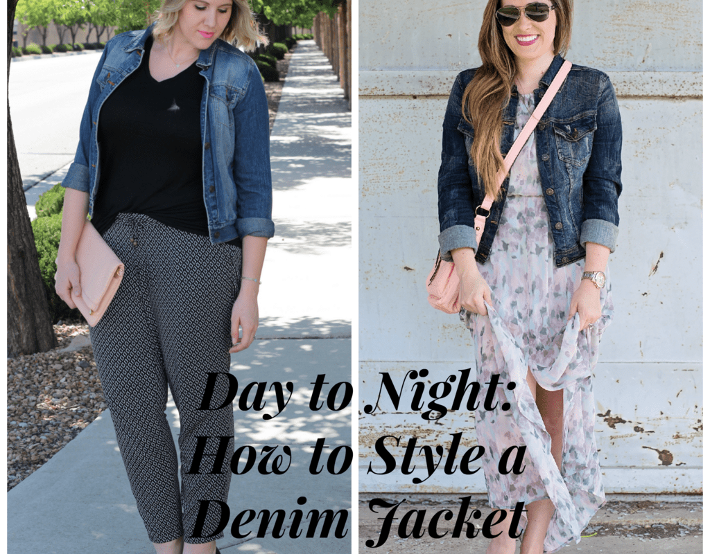 Day to Night: How to Style a Denim Jacket