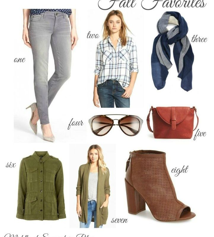 Fall Favorites & Nordstrom Giveaway!