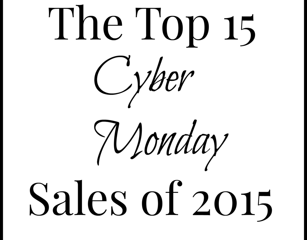 Top 15 Cyber Monday Sales + Giveaway