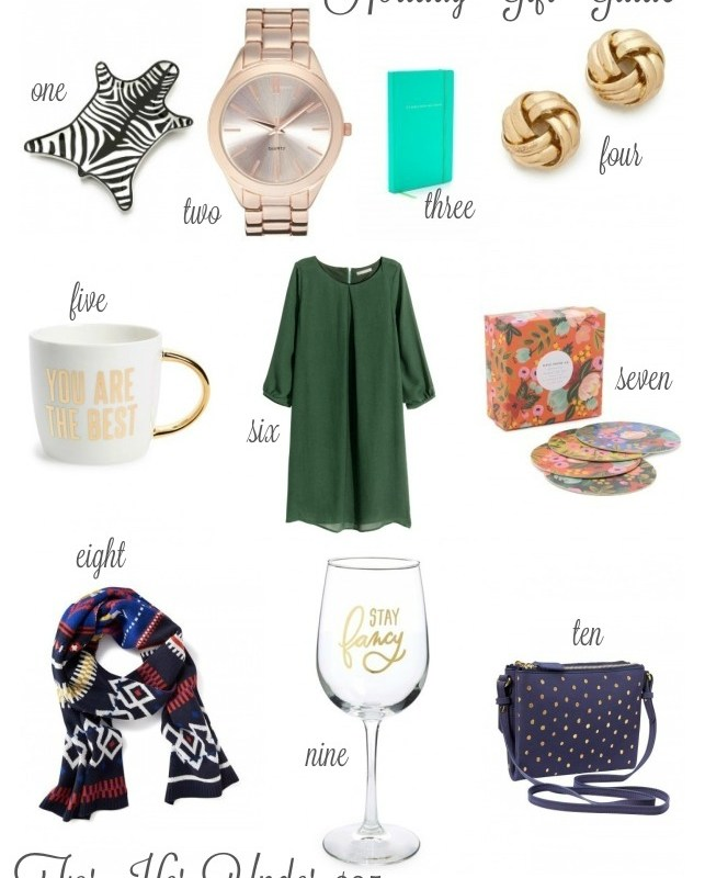 Gift Guide: For Her Under $25!