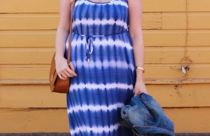 Tie Dye Maxi Dress + Giveaway!