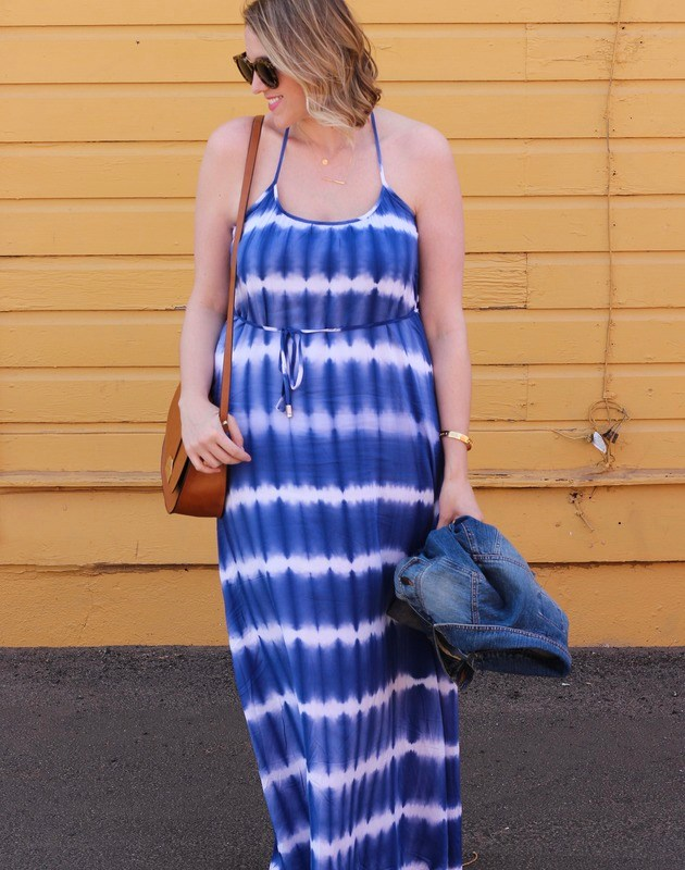 Tie Dye Maxi Dress + Giveaway!