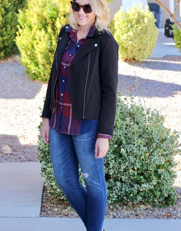 How To Style Plaid Two Ways – Part One