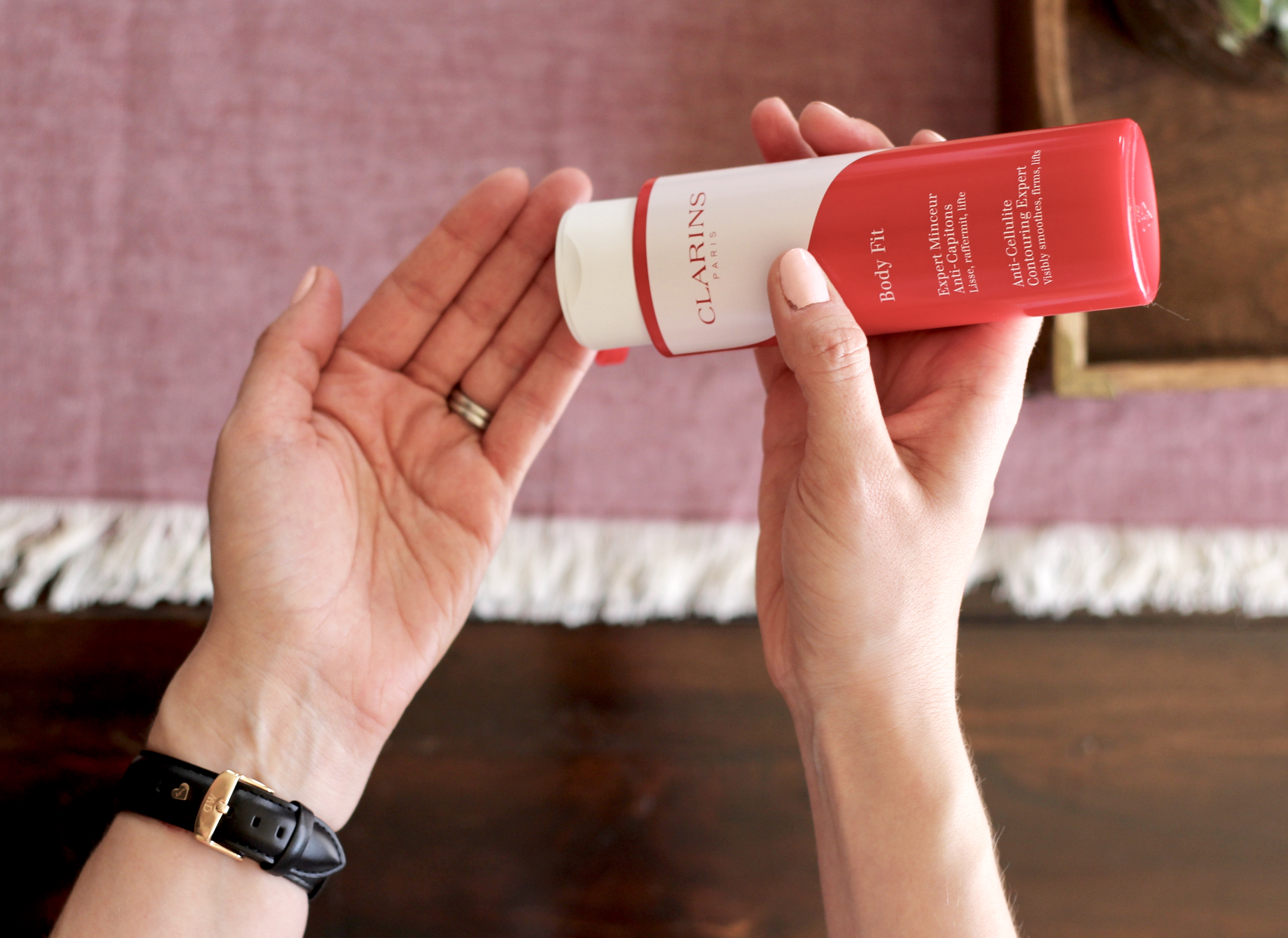 Get rid of cellulite with Clarins Body Fit Gel