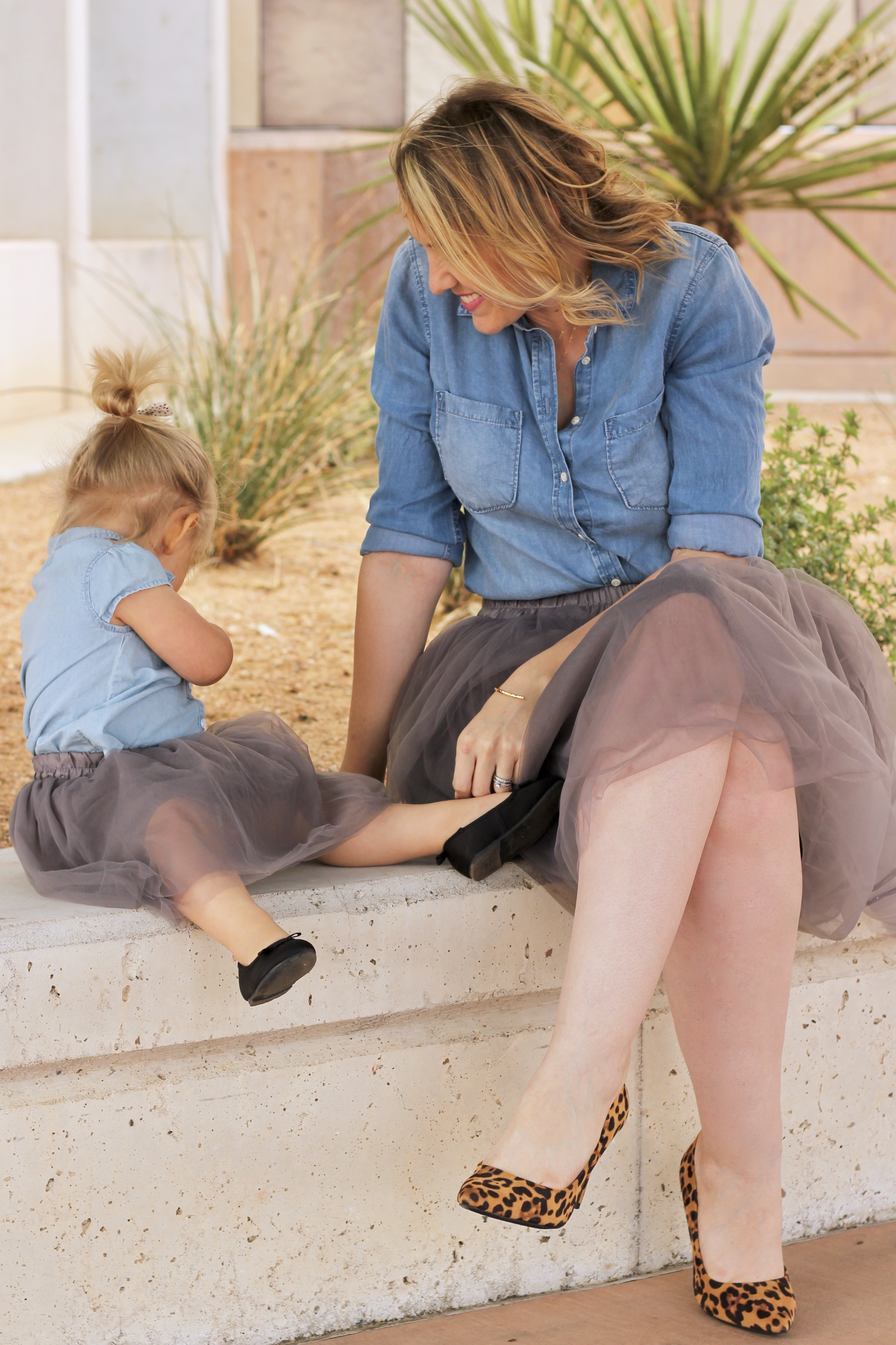 mommy and me tulle skirts