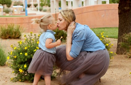 Mommy and Me Tulle Skirts + The Weekly Style Edit Link Up