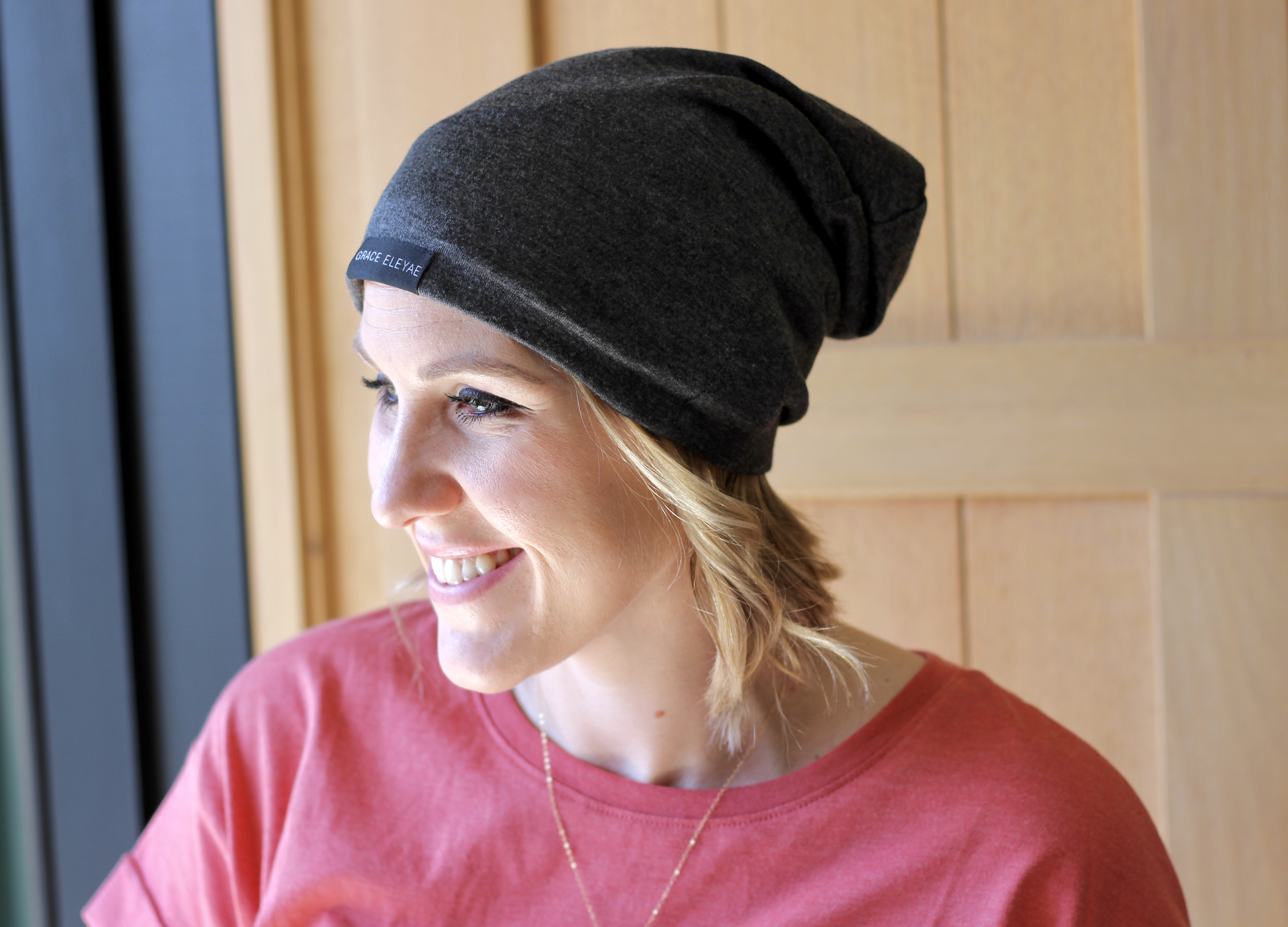 protect your hair in style with a satin lined cap