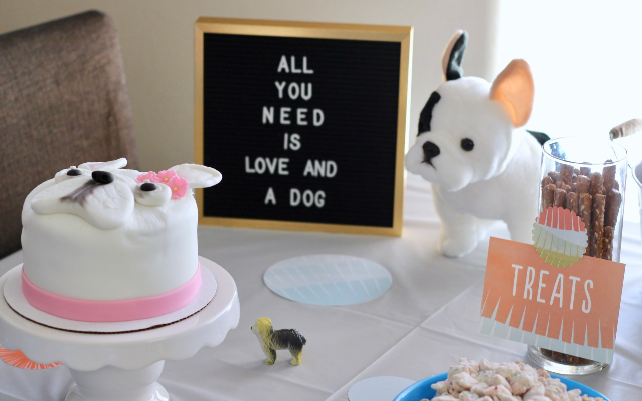 Harper's Puppy Themed Birthday Party