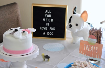 Harper's Puppy Themed Birthday Party