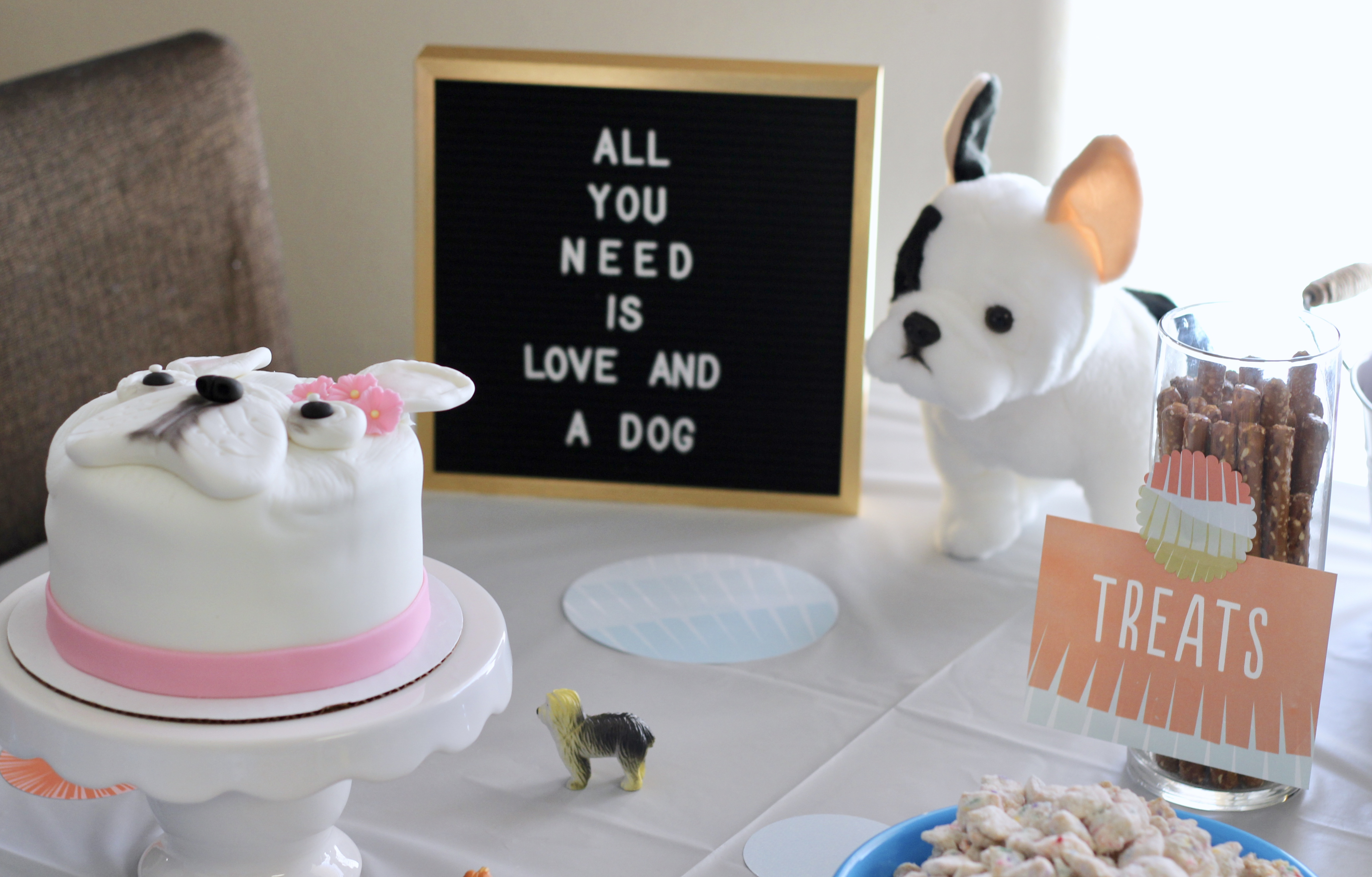puppy themed birthday party for girls
