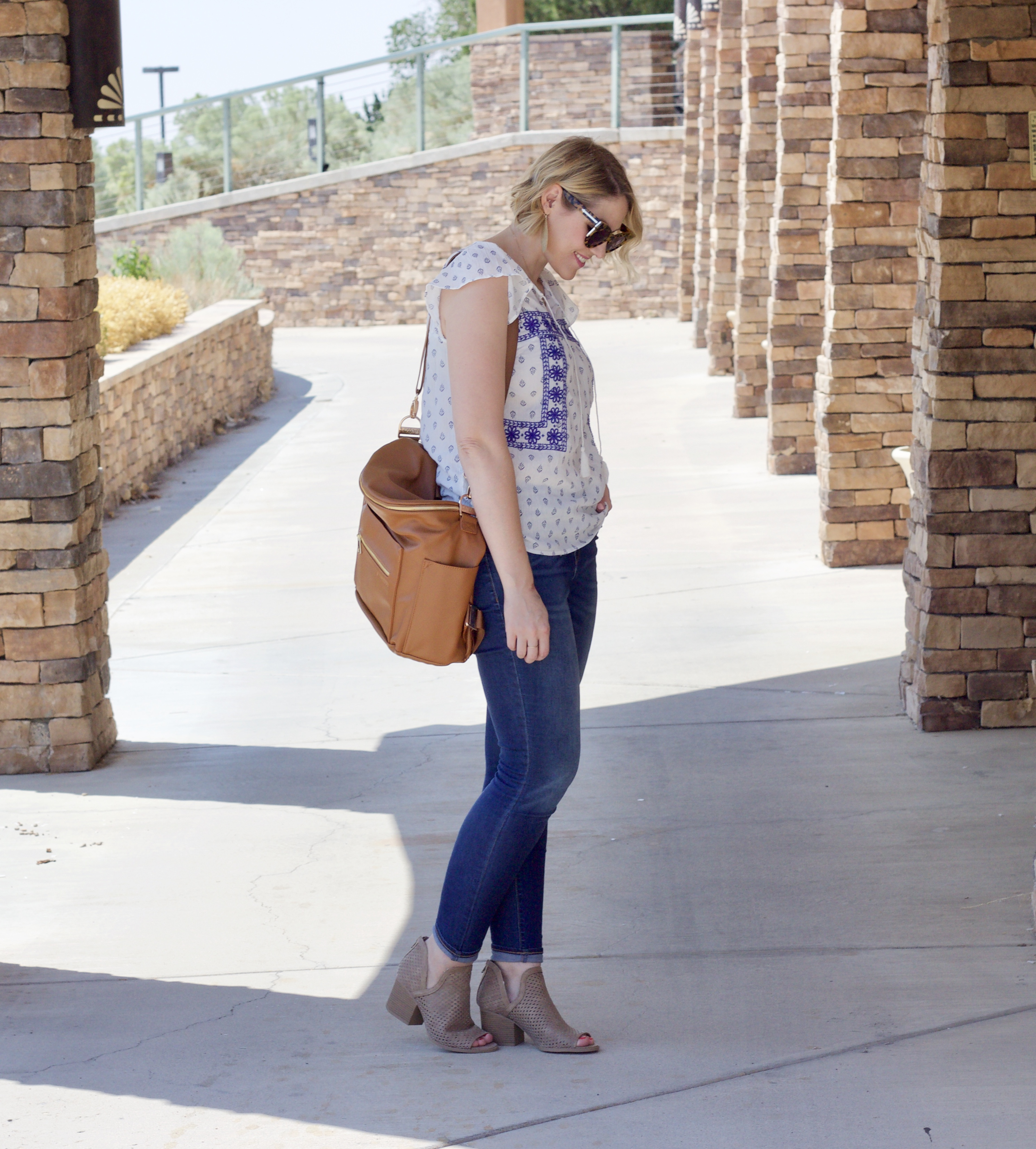 fall outfit fawn design bag