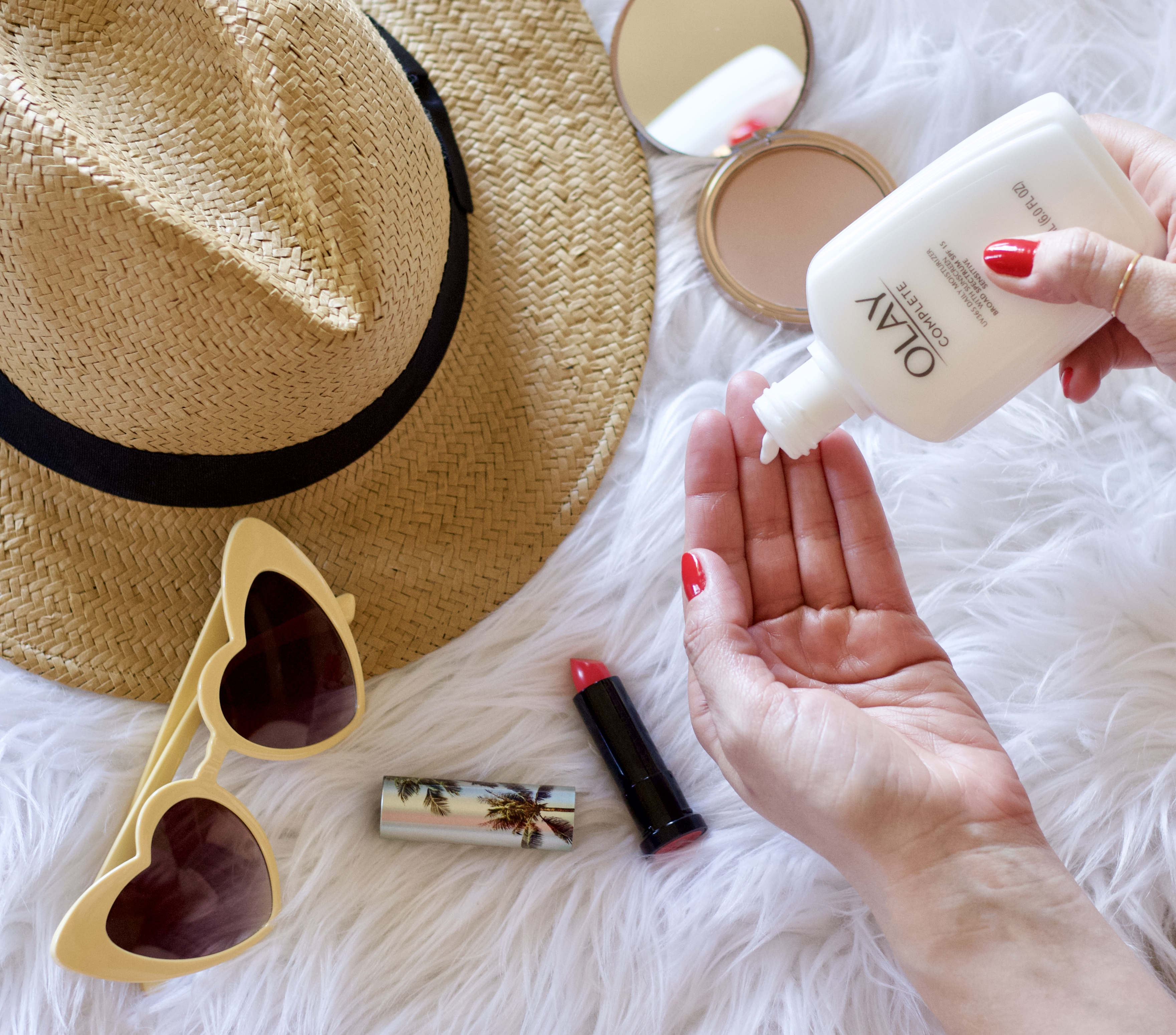 protect your skin for summer olay moisturizer #sunprotection #summerskincare #skincarefavorites