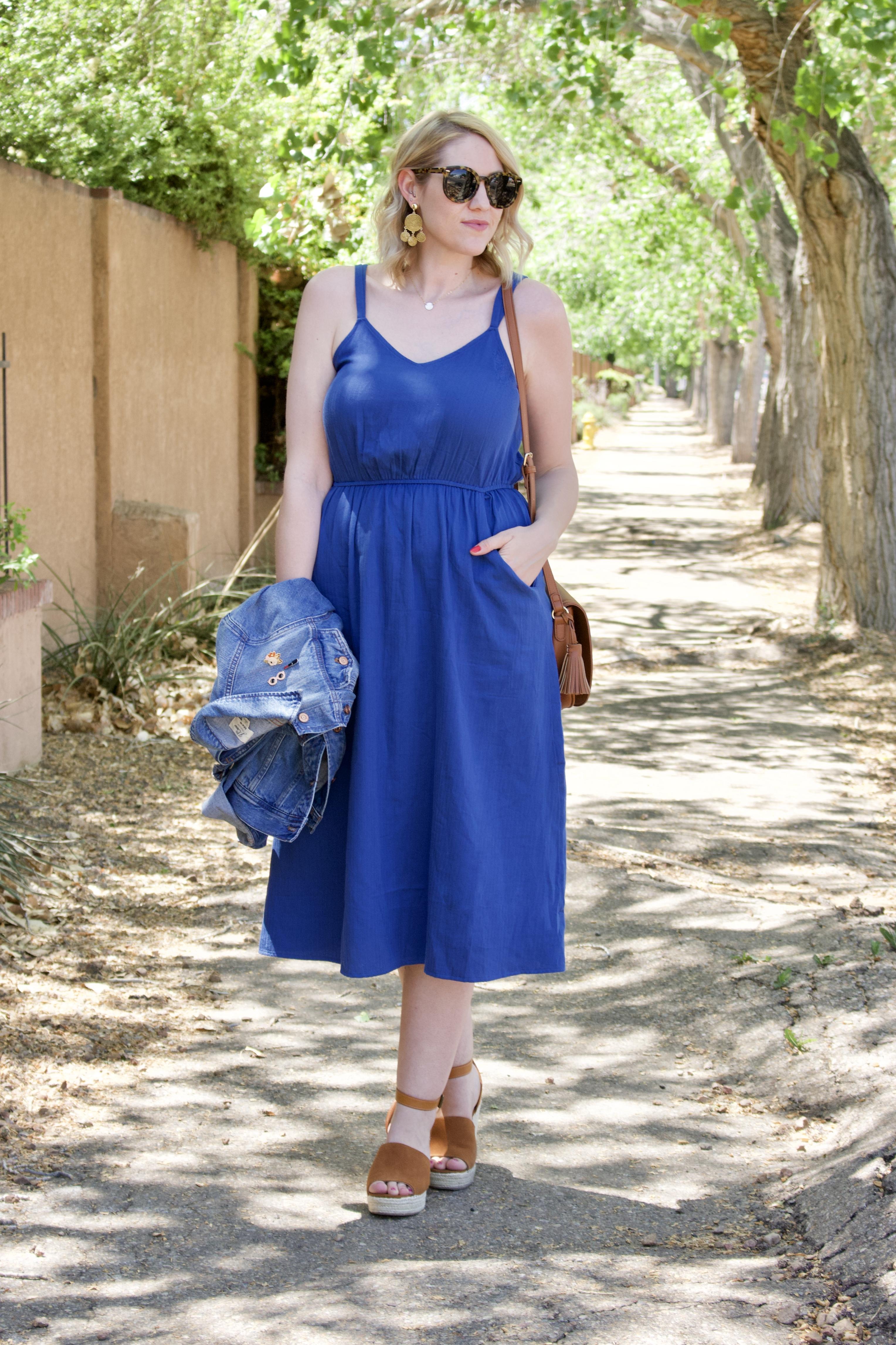 midi dress for mother's day #tallfashion #mididress #springstyle