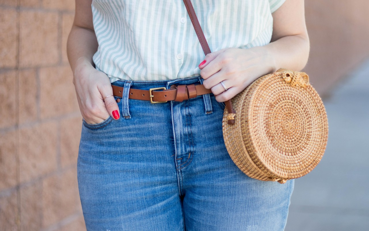 Circle Rattan Statement Bag: The Weekly Style Edit