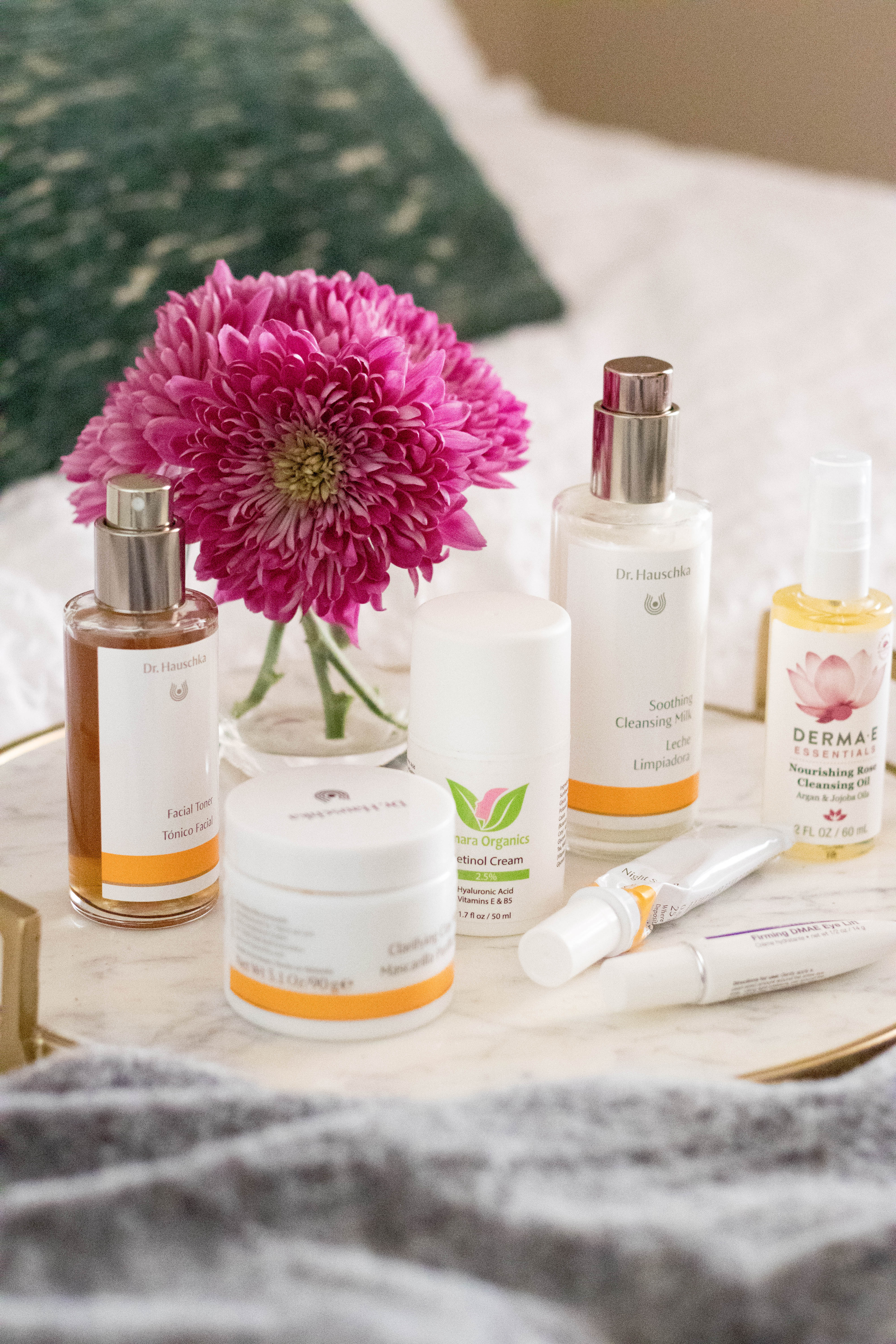 clean beauty favorites nightly skincare routine
