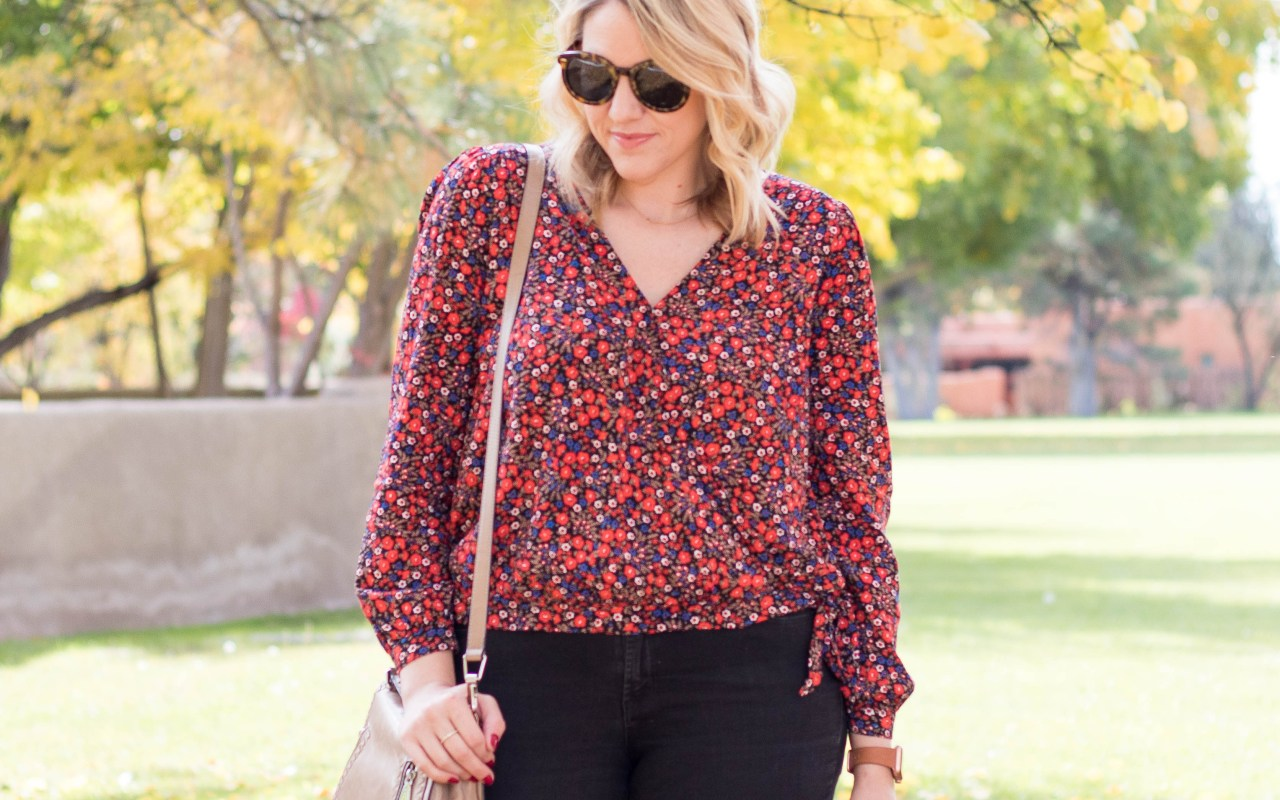 universal thread wrap top #universalthread #targetstyle #falloutfit