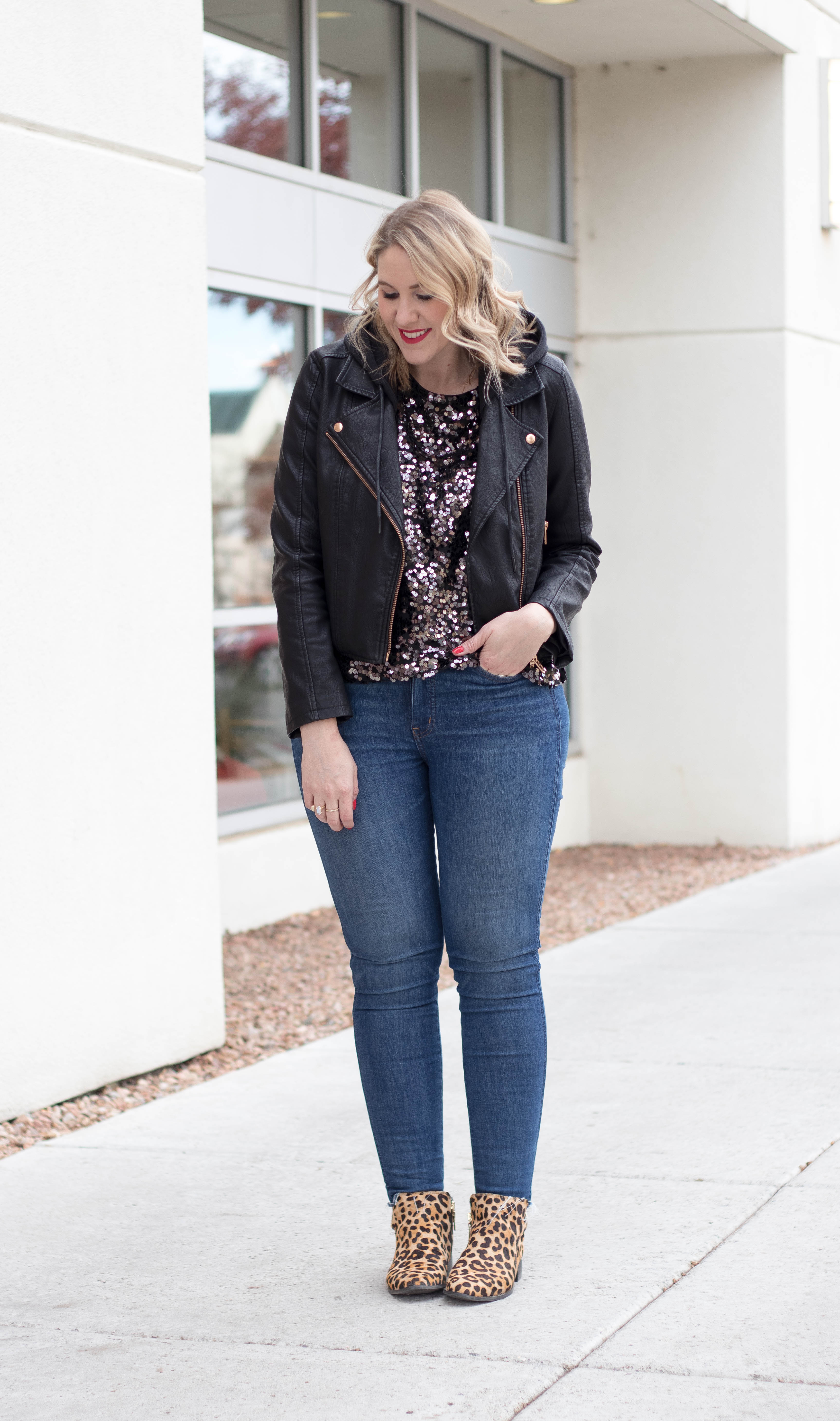 how to wear leopard boots #leopard #ankleboots #tallfashion