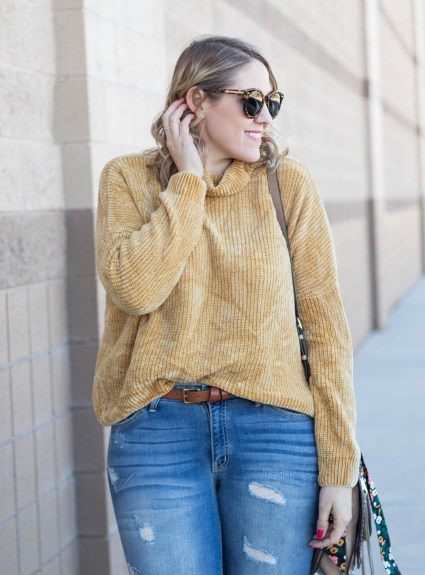 Two Ways to Wear Mustard Yellow with Bella Ella Boutique