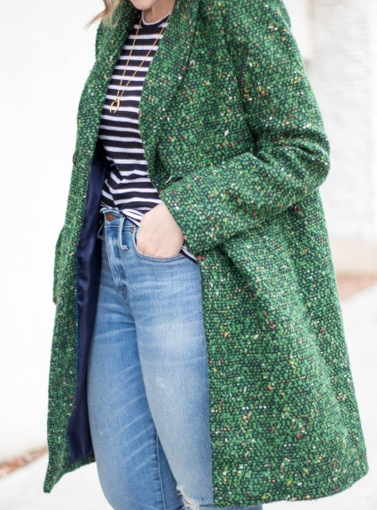 Tweed Coat for Winter: The Weekly Style Edit