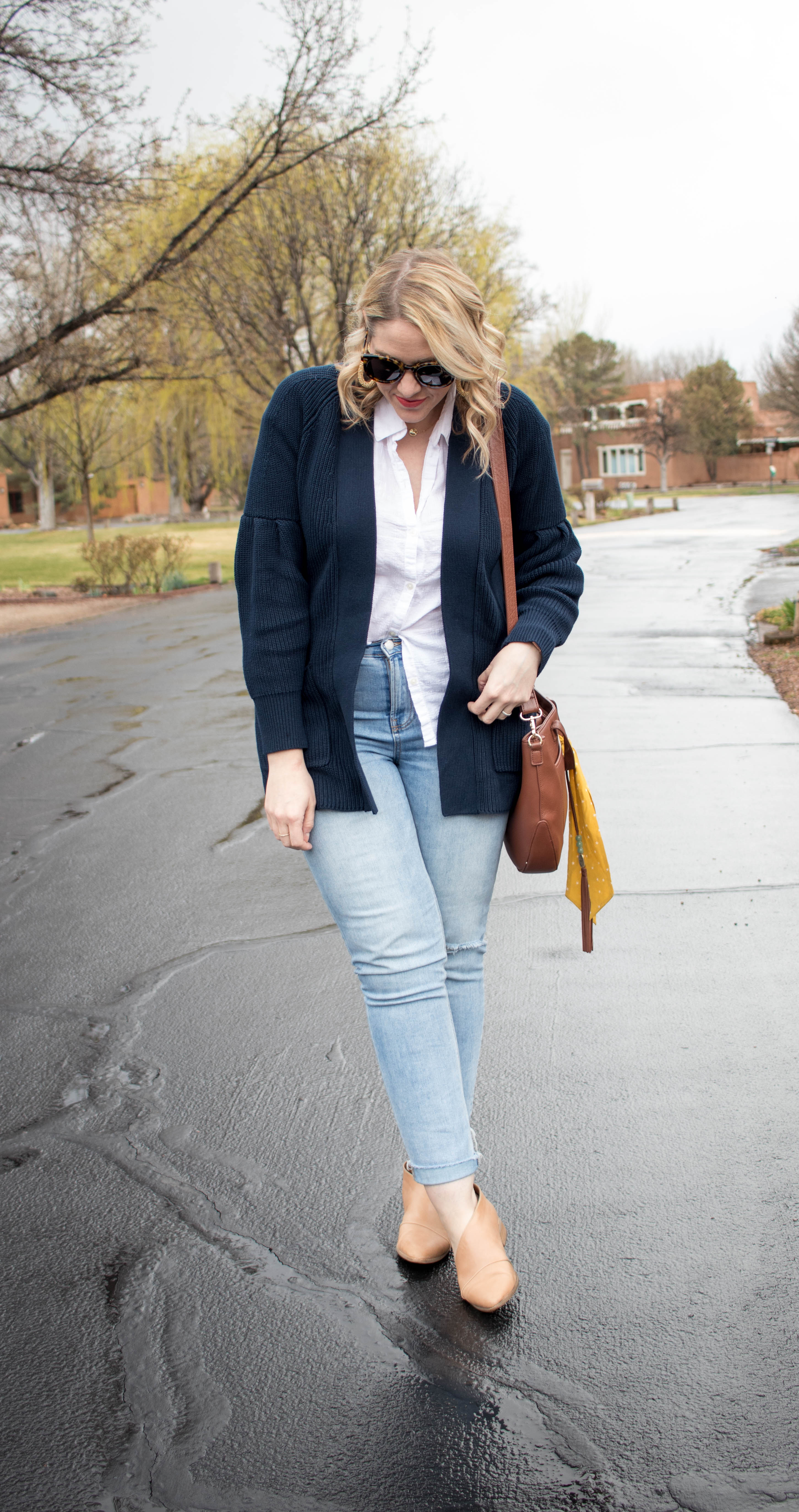 winter to spring transitional outfit #springstyle #springlayers #oldnavystyle