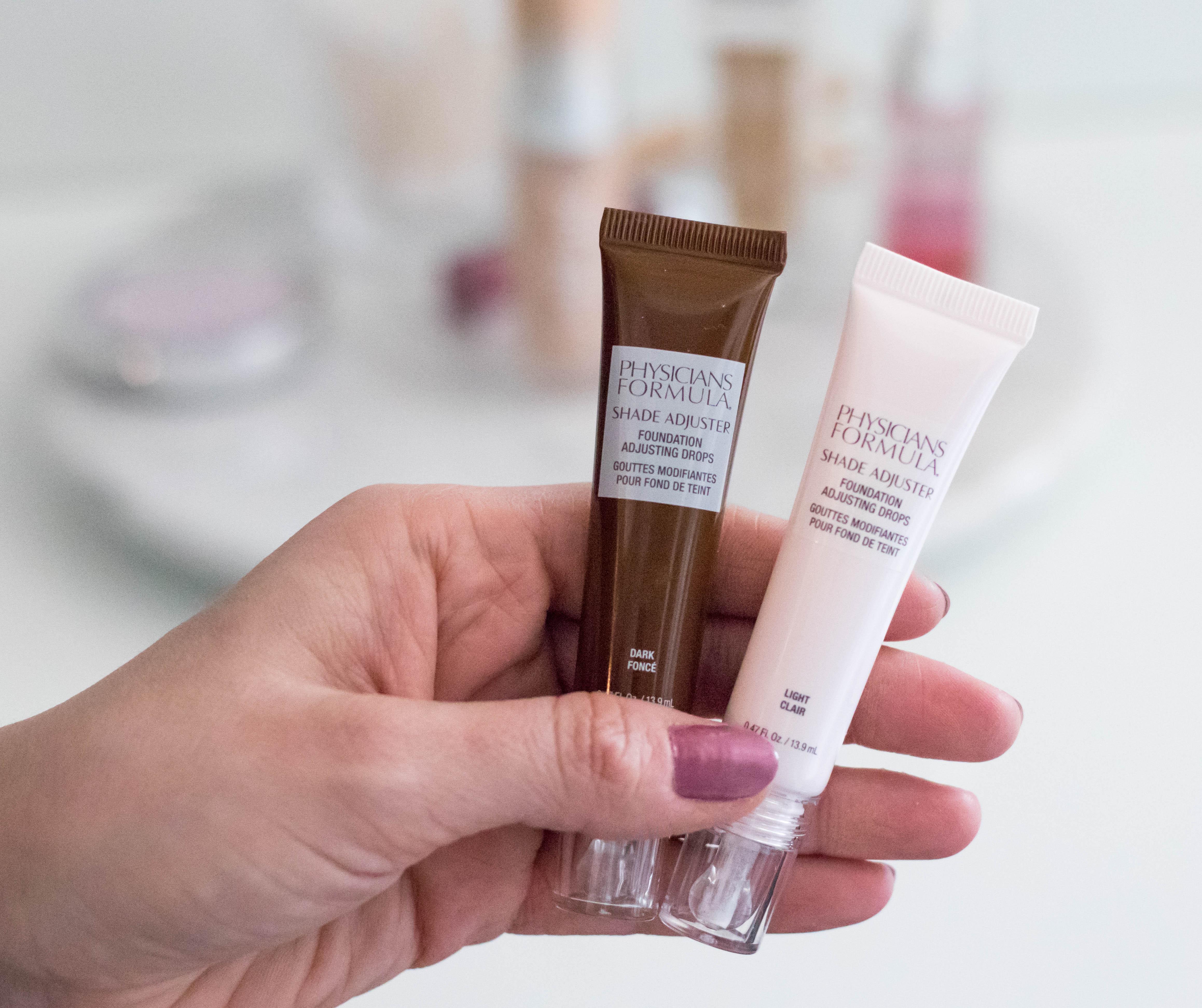 physicians formula shade adjuster foundation drops #physiciansformula #makeup #skincare #springmakeup