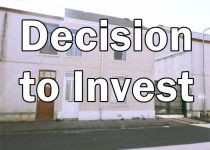 Text: Decision to Invest. Picture: Front of property blodwen st