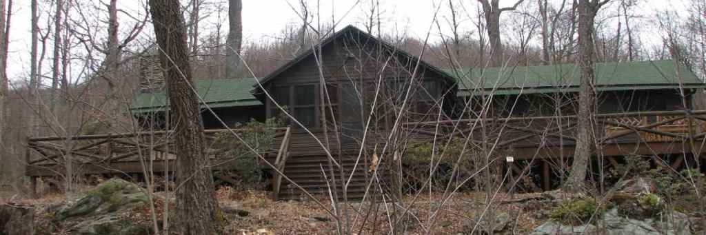 President and Mrs Hoover's Rapidan Camp
