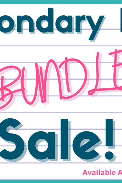 ELA Bundle Sale