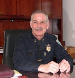 Belmont Police Chief Richard McLaughlin