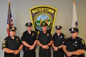 Sergeant John C. MacLellan, Sergeant Jeffrey J. Pugliese, Officer Miguel A. Colon, Jr., Officer Timothy B. Menton, and Officer Joseph B. Reynolds of the Watertown Police Department