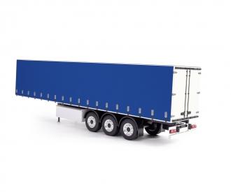 1 14 curtain side trailer rtr white blue