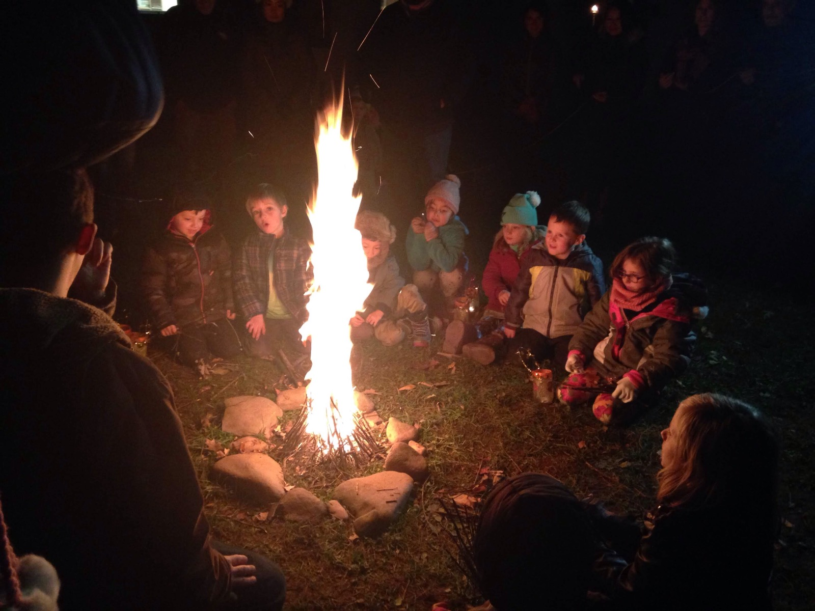 fall festival fire