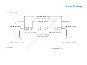 AM3100X – AC-0128 Lamp Drawing