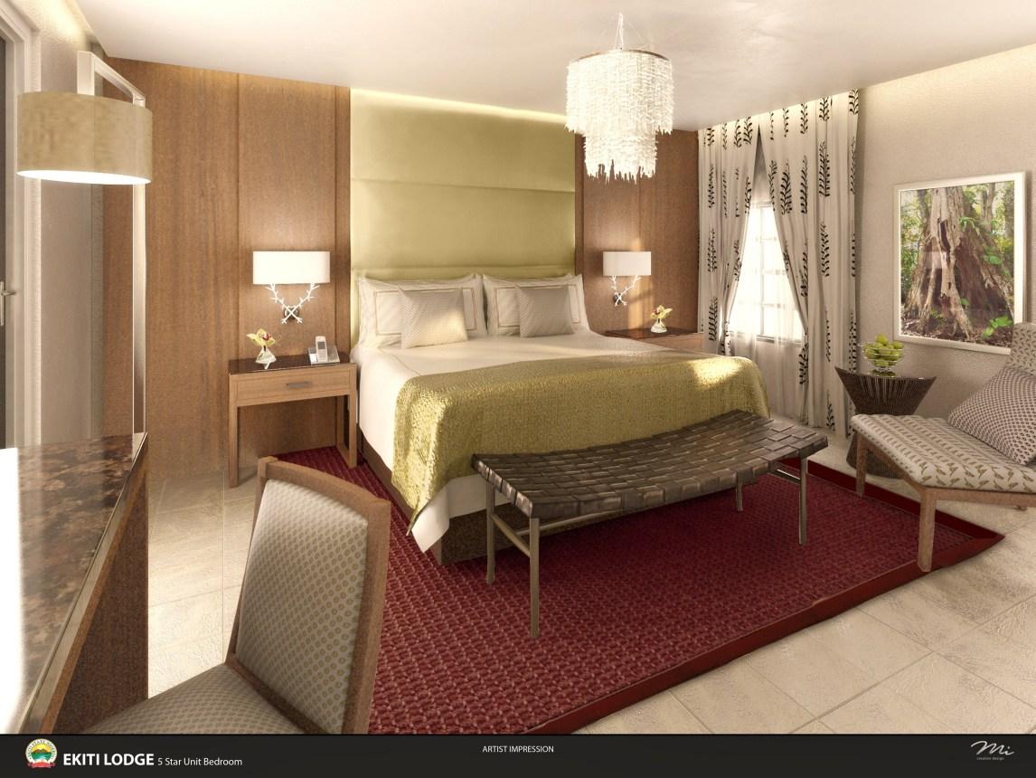 EKITI LODGE bedroom
