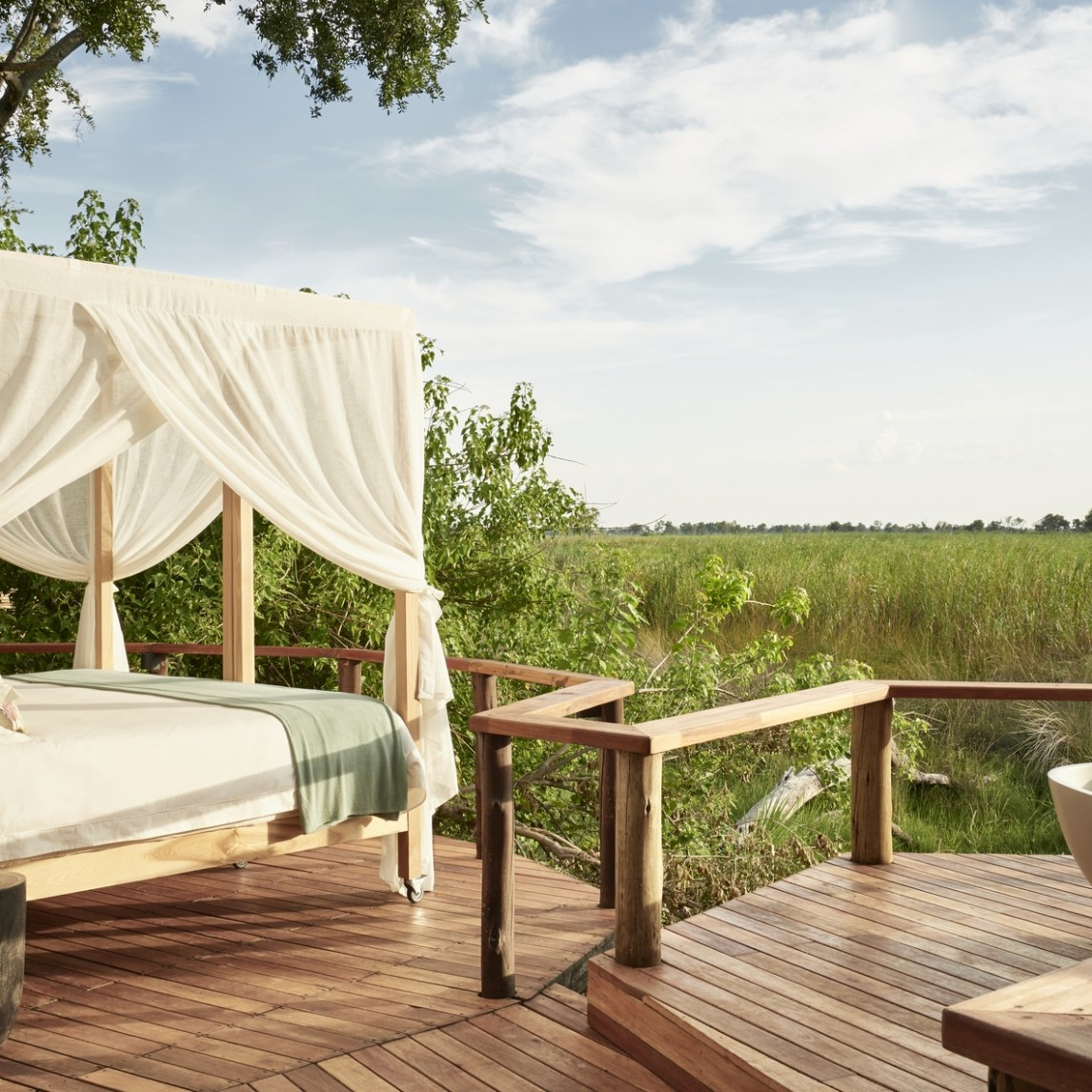 Botswana, Okavango Delta, Sanctuary Baines' Camp