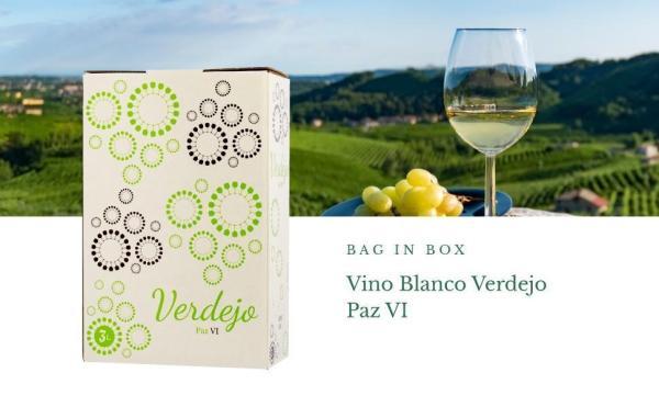 Bag in Box 3L Vino Blanco verdejo