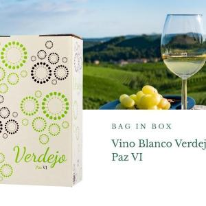 Bag in Box 3L Vino Blanco verdejo