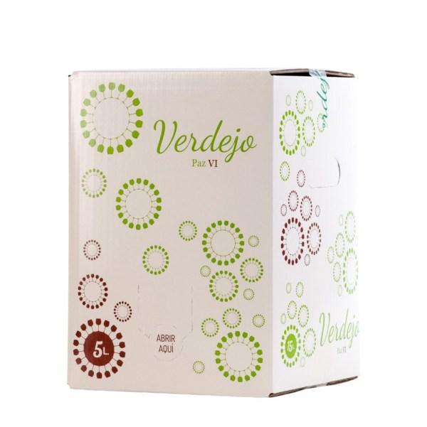 Bag in Box 5L Vino Blanco Verdejo Paz VI