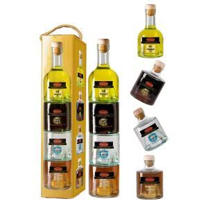 Botella apilable de distintos licores Panizo