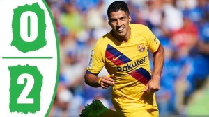getafe vs barcelona 0-2 highlights