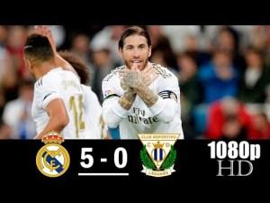 real madrid vs leganes 5-0