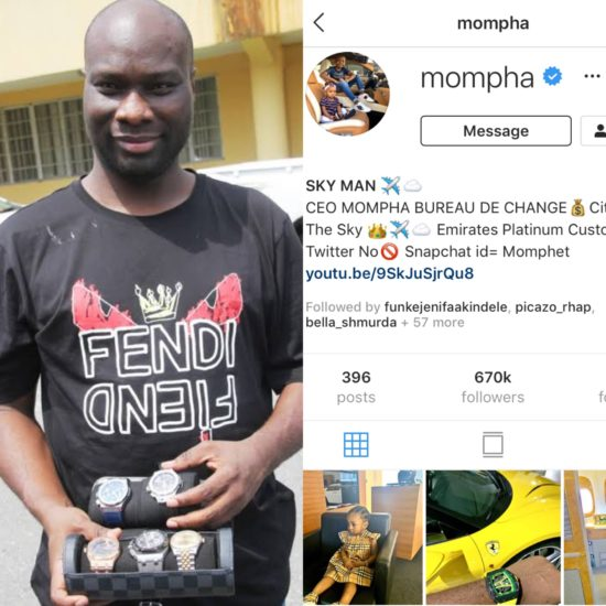Mompha returns to Instagram after sudden disappearance