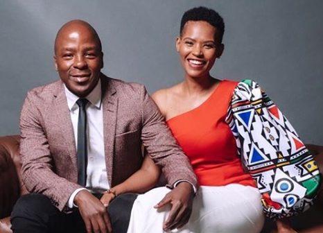 Gail and Kabelo Mabalane celebrate 7 years anniversary